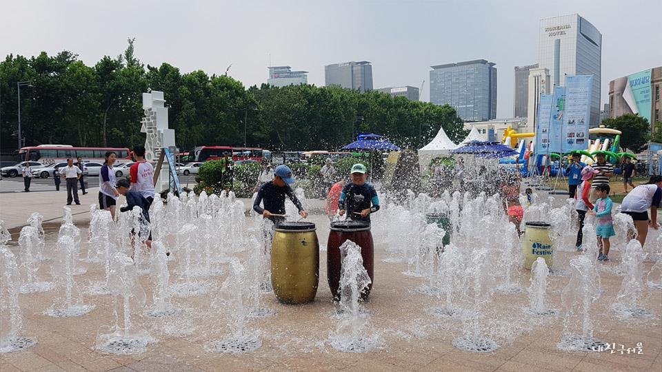 서울 빗물 캠프