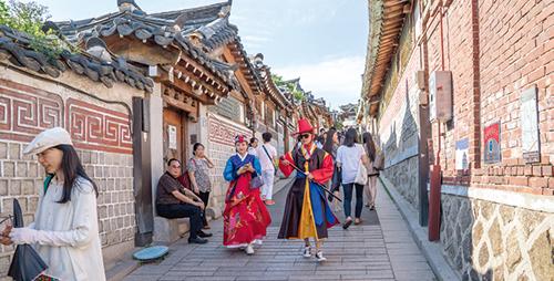 외국인을 위한 서울 도보해설관광 이벤트 실시