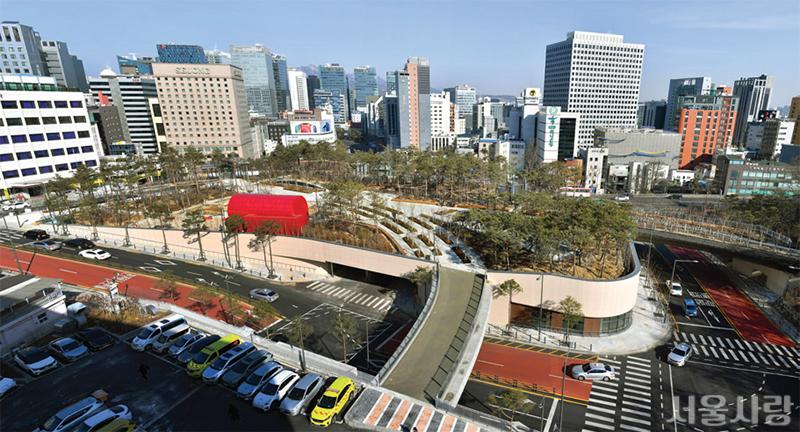 남산에 친환경 교통환승센터 개장