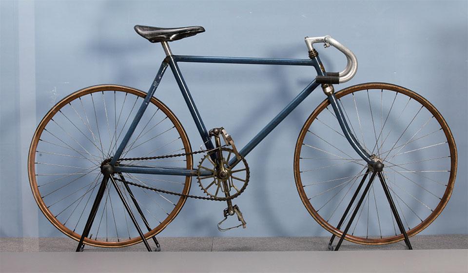 등록문화재 제466호 엄복동 자전거
