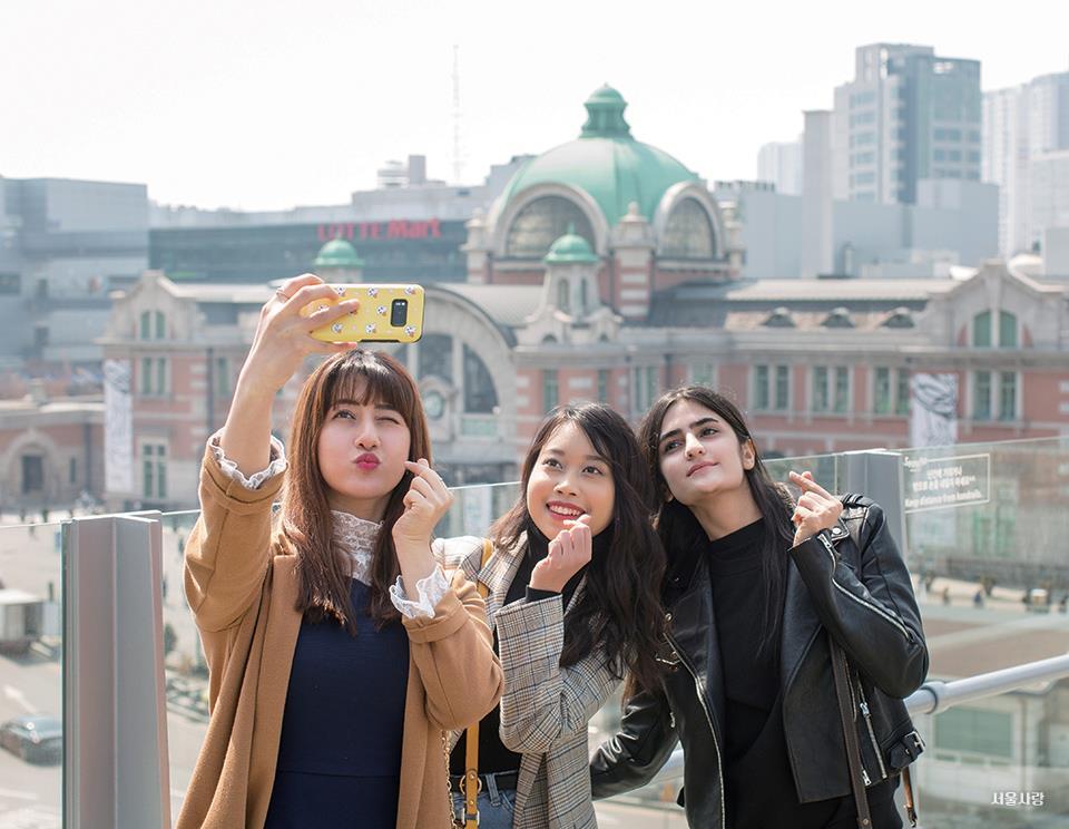 서울로7017 셀카