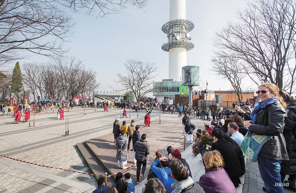 서울타워 광장