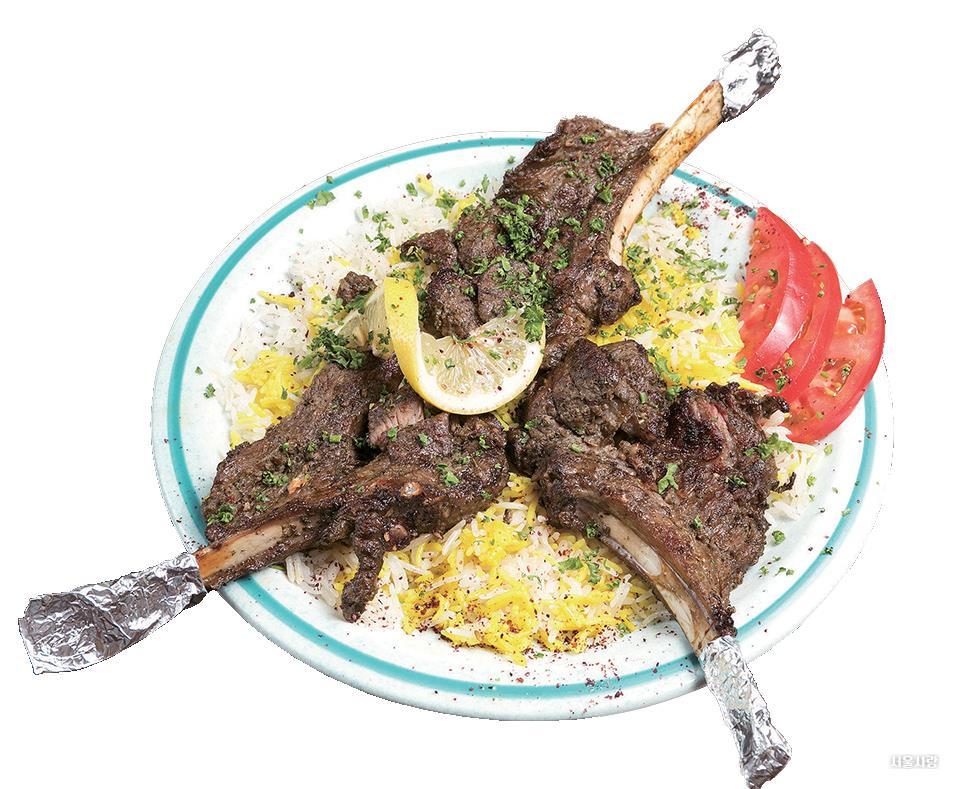 양갈비 케밥