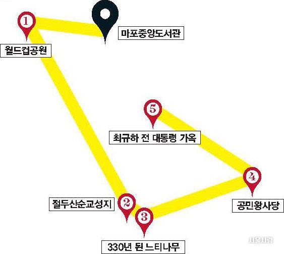 마포구 명소 지도