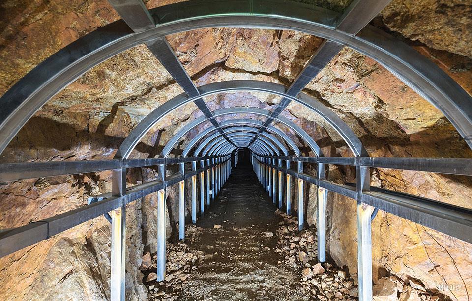 궁산땅굴역사전시관