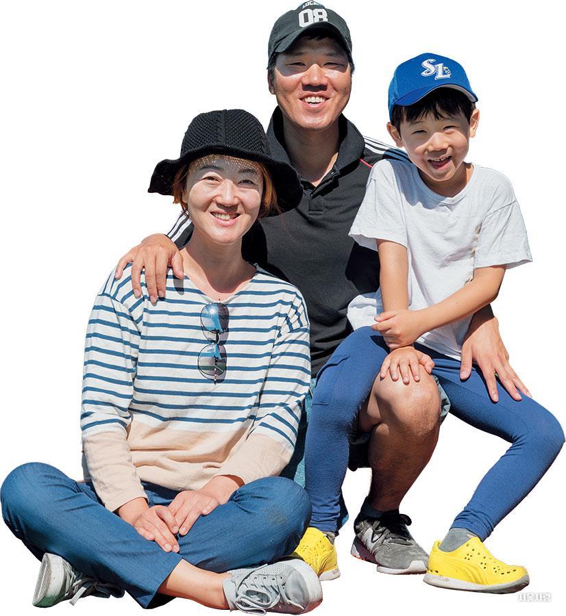 김준영,장은숙,김도현 가족