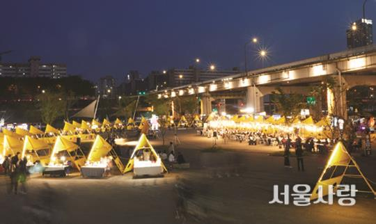 서울밤도깨비야시장(2015년 10월 개장)