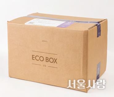 tip 환경을 생각하는 배송 박스
