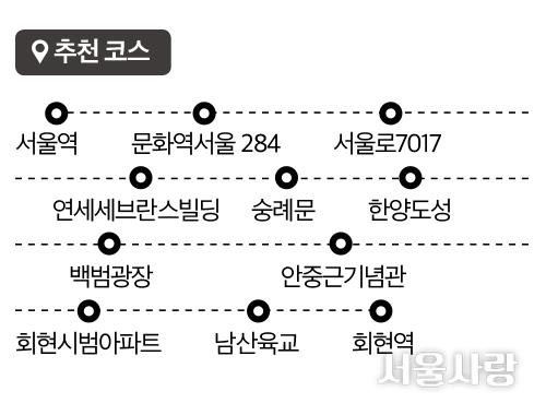 서울로7017 추천코스.