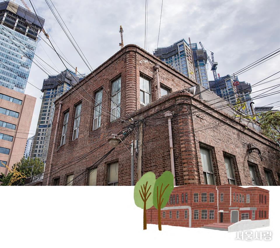 옛 용산철도병원 본관