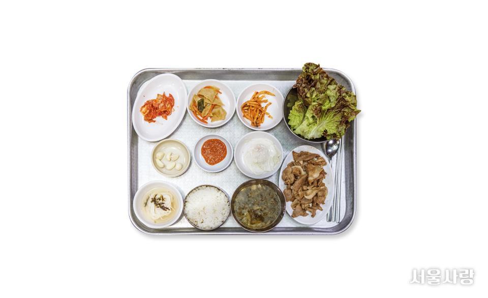 감나무집기사식당