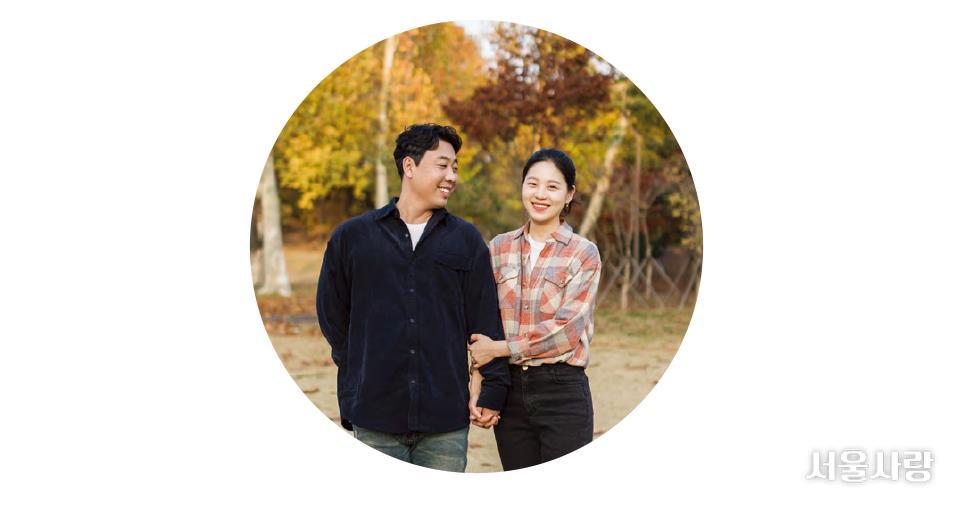 김정호·백다혜 씨(시민청 결혼식 부부)