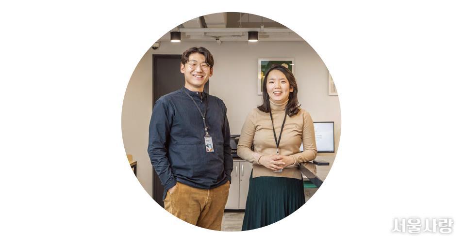 김선효 매니저·이지영 센터장(무중력지대 영등포)