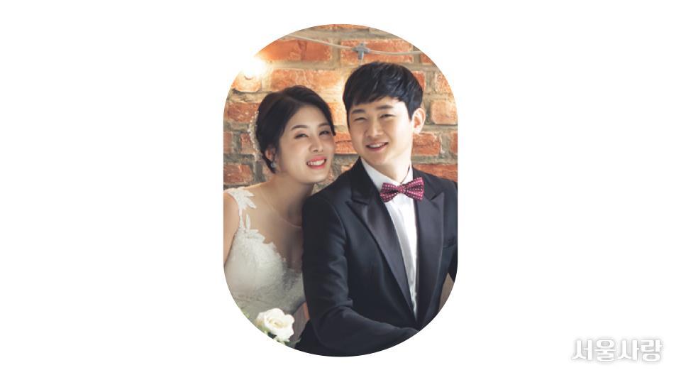 김봉기·장미혜(2019년 6월 결혼)