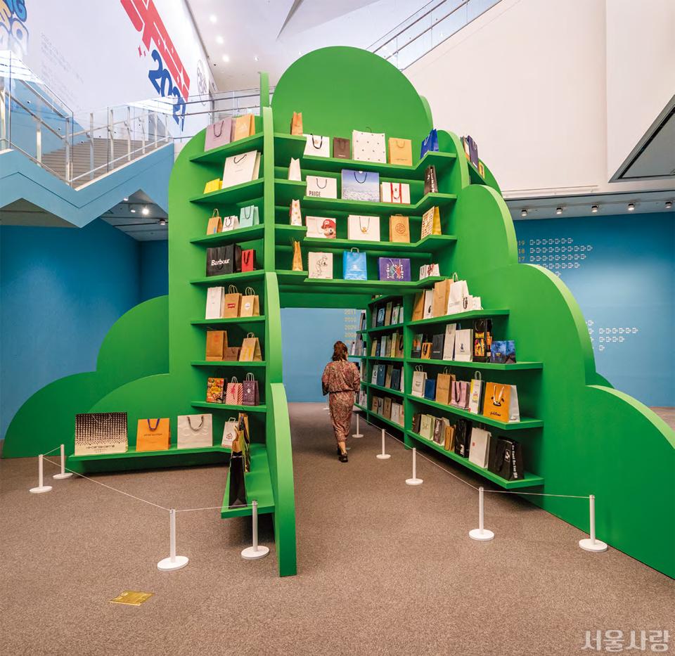 작은 동산처럼 미술관 내·외부가 연결된 북서울미술관의 지하에는 어린이를 위한 전용 갤러리가 자리한다.
