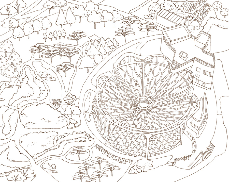 서울을 색칠하자 서울식물원 무채색편