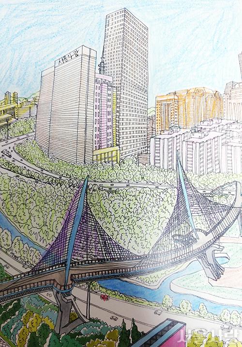서울을 색칠하자 이벤트 참여 당첨자