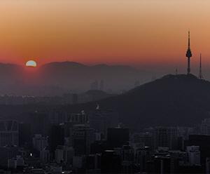 [서울의 아침]다시 뜨겁게 떠올라라! 2016 서울의 아침 풍경