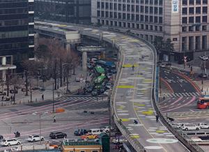 [서울형 도시재생]폐쇄된 고가 주변 교통 편리하게 이용하기 서울역 주변 교통정보