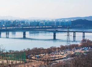 [서울둘레길 문화 읽기 ⑩]서울둘레길 7코스 봉산~앵봉산 구간 물을 건너고 산을 넘는 봄소식처럼
