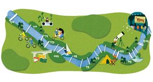 [한강에서 놀자] 2017 '내 손안에' 한강몽땅 놀이 지도