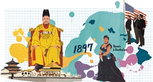 [역사 속 평행이론] 서울은 황도(皇都)가 되고, 하와이는 미국이 되다