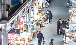 [서울풍경] 나는 오늘 시장에 갑니다